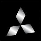 Mitsubishi Накладки на задний бампер