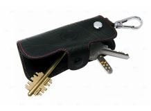 Чехол для ключей Cadillac кожаный, универсальный (BGT-LKH904-Cad)