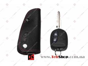 Чехол для ключей Chevrolet кожаный (T1, BGT-LKH106-Ch)