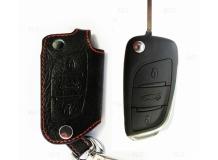Чехол для ключей Citroen кожаный (T1, BGT-LKH506-Cit)