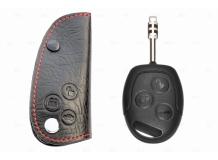 Чехол для ключей Ford кожаный (T1, BGT-LKH102-F)