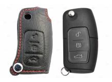 Чехол для ключей Ford кожаный (T1, BGT-LKH508-F)