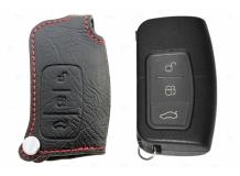 Чехол для ключей Ford кожаный (T1, BGT-LKH508-F0)