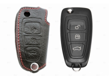 Чехол для ключей Ford кожаный (T1, BGT-LKH808-F)