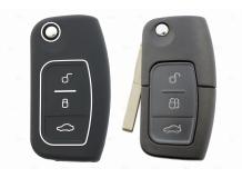 Чехол для ключей Ford силиконовый (BGT-SKH508-F-Bk)