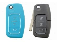 Чехол для ключей Ford силиконовый (BGT-SKH508-F-Bl)