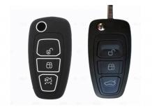 Чехол для ключей Ford силиконовый (BGT-SKH808-F-Bk)