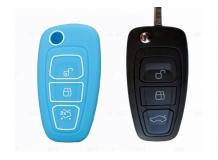 Чехол для ключей Ford силиконовый (BGT-SKH808-F-Bl)