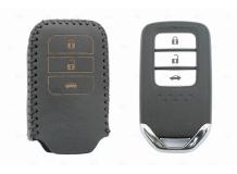 Чехол для ключей Honda кожаный (T2, BGT-LKH-HND-Y400-B)