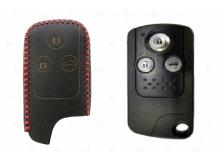 Чехол для ключей Honda кожаный (T2, BGT-LKH-HND-Y516-R)