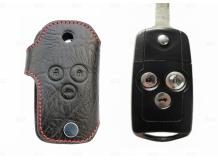 Чехол для ключей Honda кожаный (T1, BGT-LKH516-Ho3)