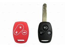 Чехол для ключей Honda силиконовый (BGT-SKH401-Ho-Rd)