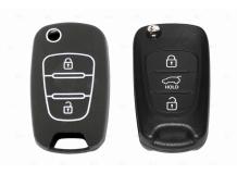 Чехол для ключей Hyundai силиконовый (BGT-SKH-108KiHy-Bk)