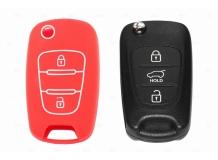 Чехол для ключей Hyundai силиконовый (BGT-SKH-108KiHy-Rd)