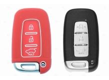 Чехол для ключей Hyundai силиконовый (BGT-SKH-KiHySy-Rd)