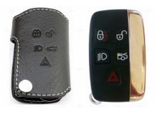Чехол для ключей Jaguar кожаный (T1, BGT-LKH-J1)