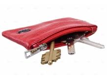 Чехол для ключей Kia кожаный, универсальный (BGT-LKH-UNR-Ki)