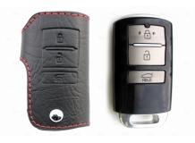 Чехол для ключей Kia кожаный (T1, BGT-LKH002-Ki)