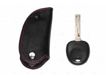 Чехол для ключей Kia кожаный (T1, BGT-LKH905-Ki)