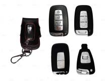 Чехол для ключей Kia кожаный (T1, BGT-LKH906-Ki)