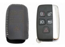 Чехол для ключей Land Rover кожаный (T2, BGT-LKH-JLR-Y1-S)