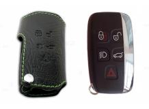 Чехол для ключей Land Rover кожаный (T1, BGT-LKH-LR1)