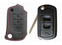 Чехол для ключей Land Rover кожаный (T1, BGT-LKH801-LR)