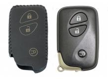 Чехол для ключей Lexus кожаный (T2, BGT-LKH-LX-Y305-B)