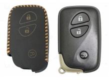 Чехол для ключей Lexus кожаный (T2, BGT-LKH-LX-Y305-Z)