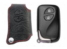 Чехол для ключей Lexus кожаный (T1, BGT-LKH305-L2B)