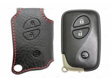Чехол для ключей Lexus кожаный (T1, BGT-LKH305-L3B)