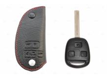 Чехол для ключей Lexus кожаный (T1, BGT-LKH409-L)