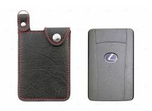 Чехол для ключей Lexus кожаный (T1, BGT-LKHPL)