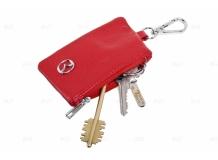 Чехол для ключей Mazda кожаный, универсальный (BGT-LKH-UNR-Mz)