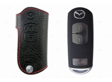 Чехол для ключей Mazda кожаный (T1, BGT-LKH900-3)