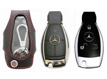 Чехол для ключей Mercedes кожаный (T1, BGT-LHK509-MB)