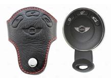 Чехол для ключей Mini кожаный (T1, BGT-LKH306Min)