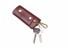 Чехол для ключей Mitsubishi кожаный, универсальный (BGT-LKH-UNR-Mitsu)