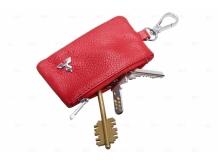 Чехол для ключей Mitsubishi кожаный, универсальный (BGT-LKH-UDBR-Mit)