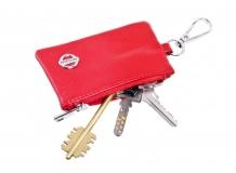 Чехол для ключей Nissan кожаный, универсальный (BGT-LKH-UNR-Nis)