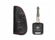 Чехол для ключей Nissan кожаный (T1, BGT-LKH100N)