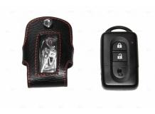 Чехол для ключей Nissan кожаный (T1, BGT-LKH102N)
