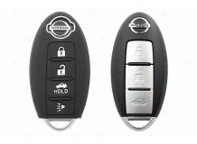 Чехол для ключей Nissan силиконовый (BGT-SKH701N-3B-Bk)