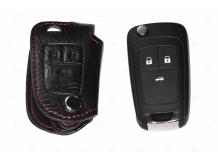 Чехол для ключей Opel кожаный (T1, BGT-LKH103-Op)