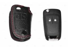 Чехол для ключей Opel кожаный (T1, BGT-LKH105-Op)