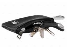 Чехол для ключей Peugeot кожаный, универсальный (BGT-LKH-UNB-Pe)