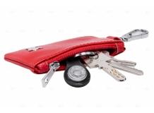 Чехол для ключей Peugeot кожаный, универсальный (BGT-LKH-UNR-Pe)