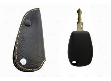 Чехол для ключей Renault кожаный (T1, BGT-LKH-Re2)