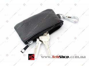 Чехол для ключей SsangYong кожаный, универсальный (BGT-LKH-UNB-SS)