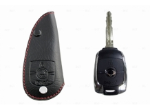 Чехол для ключей SsangYong кожаный (T1, BGT-LKH905-SS1)